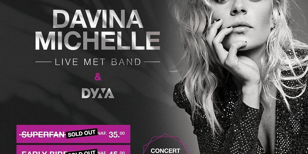 Davina Michelle live met band & Dyna