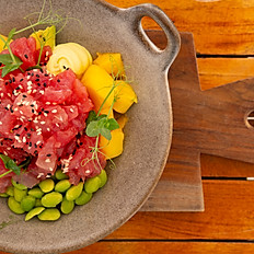 Poke bowl tuna