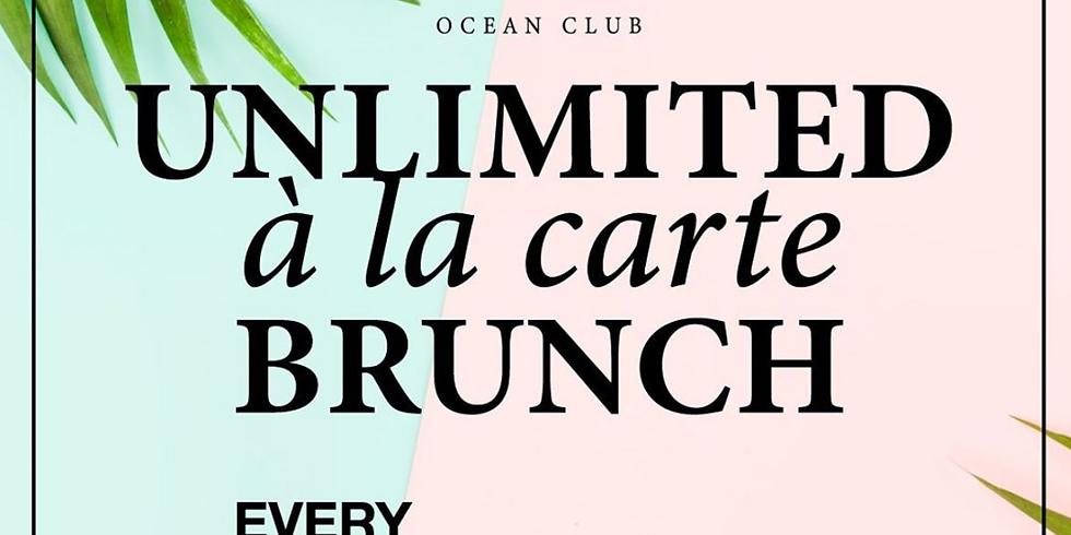 Unlimited à la carte brunch - Sundays