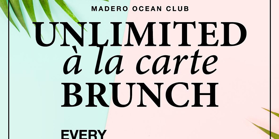 Unlimited à la carte brunch - Saturdays
