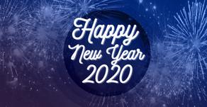Wir wünschen ein frohes neues und glückliches Jahr 2020!