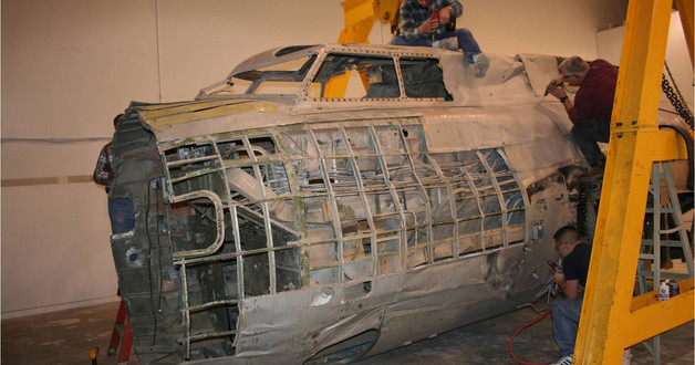Cockpit disassembly