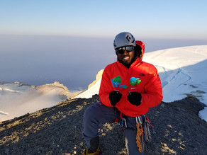 Meet The Young Mountaineer Aiming To Become The First African American Man To Climb Mount Everest