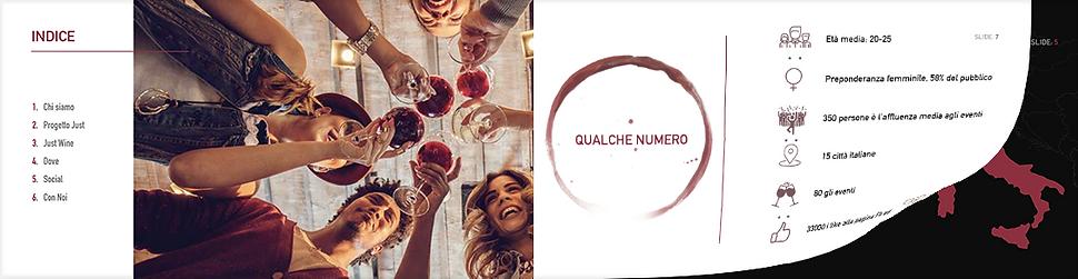 portfolio presentazione Just Wine