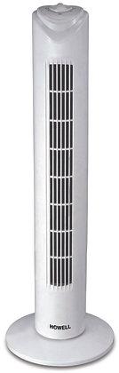 Ventilatore a torre bianco