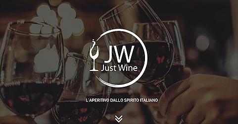 Creazione e realizzazione grafica presentazione Just Wine