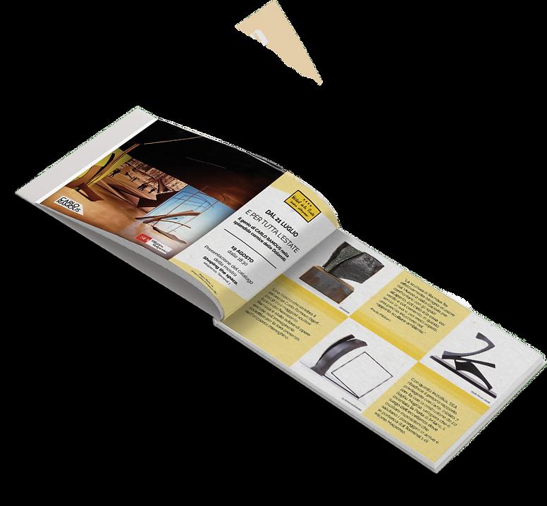 Grafica e impaginazione brochure Hotel de la Poste