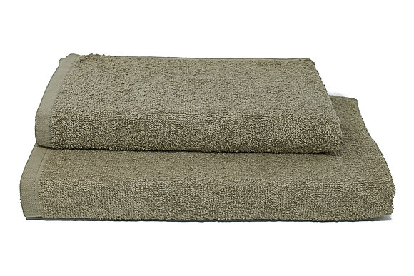 Set LONDON. Morbidi asciugamani in spugna di cotone 100% disponibili in 6 colori