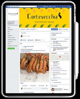 portfolio gestione social facebook Cortevecchia