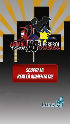 App mobile dedicata Animali vs Supereroi