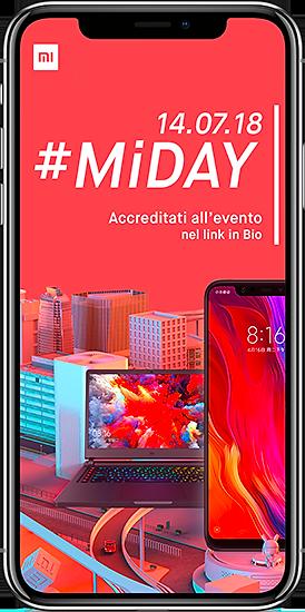 Realizzazioni grafiche Mi Store Italia - Xiaomi