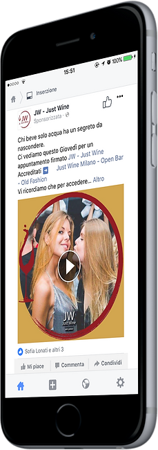 Gestione pagine social Just Wine
