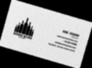 Biglietto da visita Barman Milano