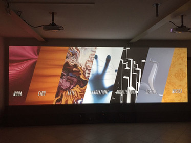 Direzione artistica - Percorso narrativo interattivo sul Made in Italy