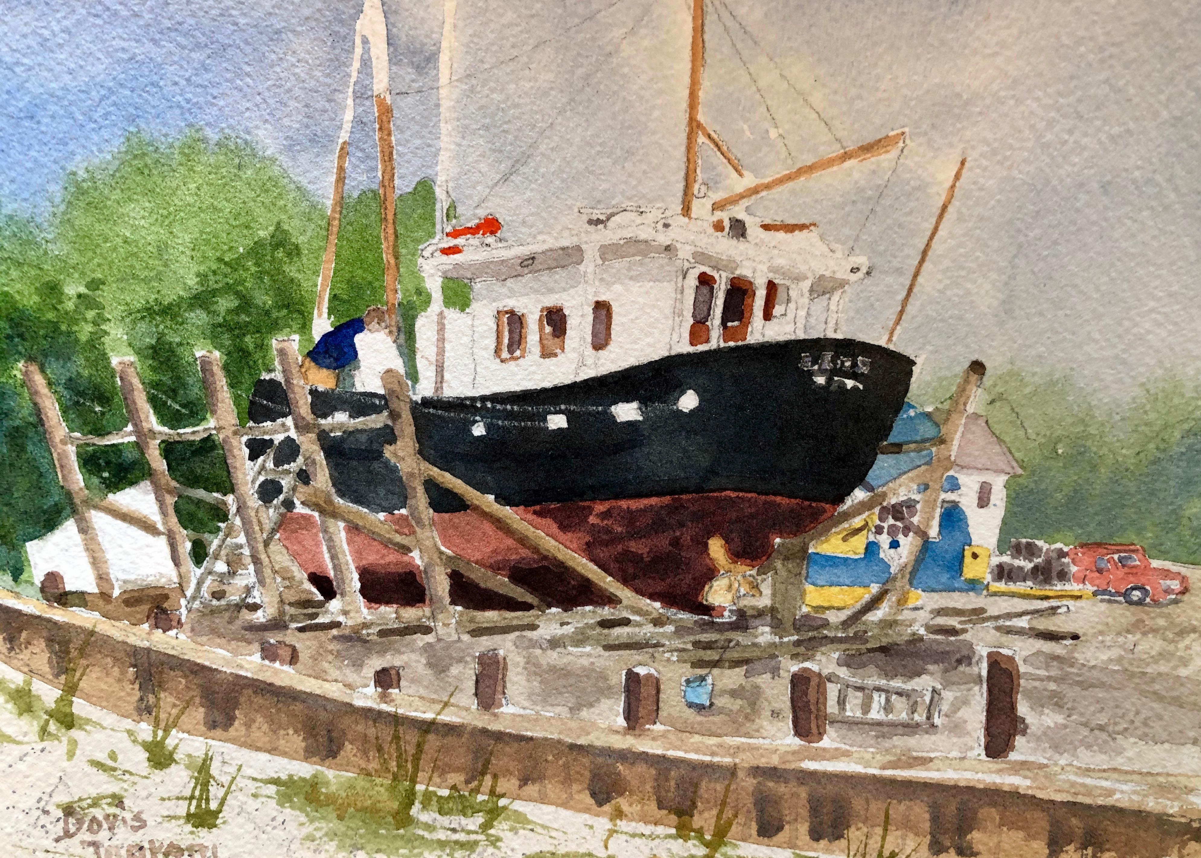Artist Doris Ingram
