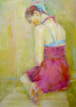 Artist Sydney McGinley