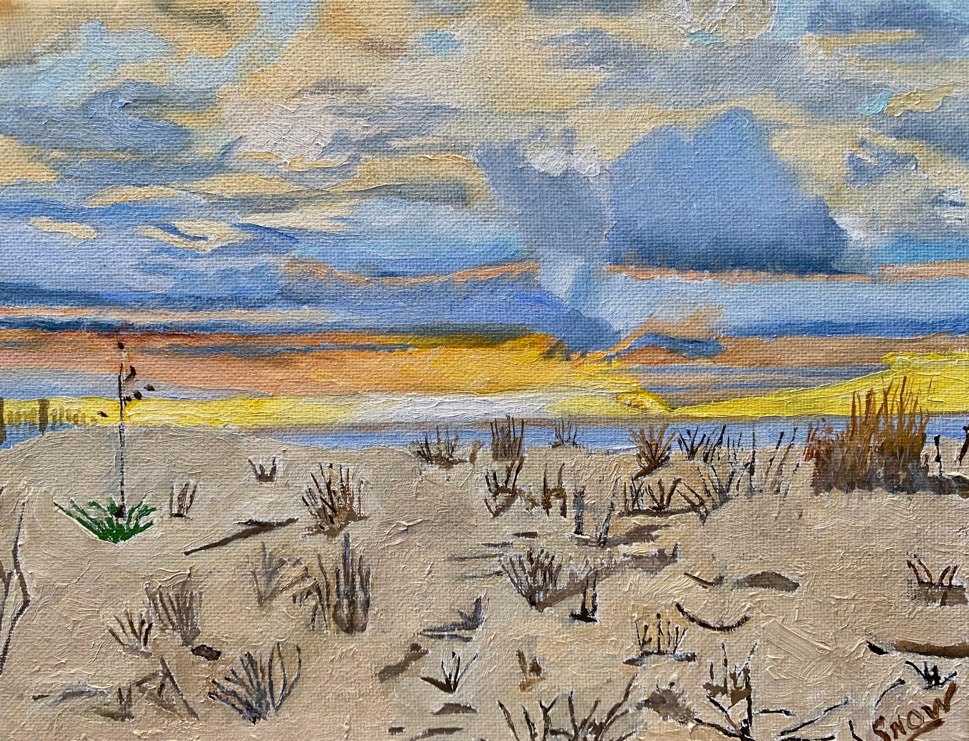 Artist Bill Snow
