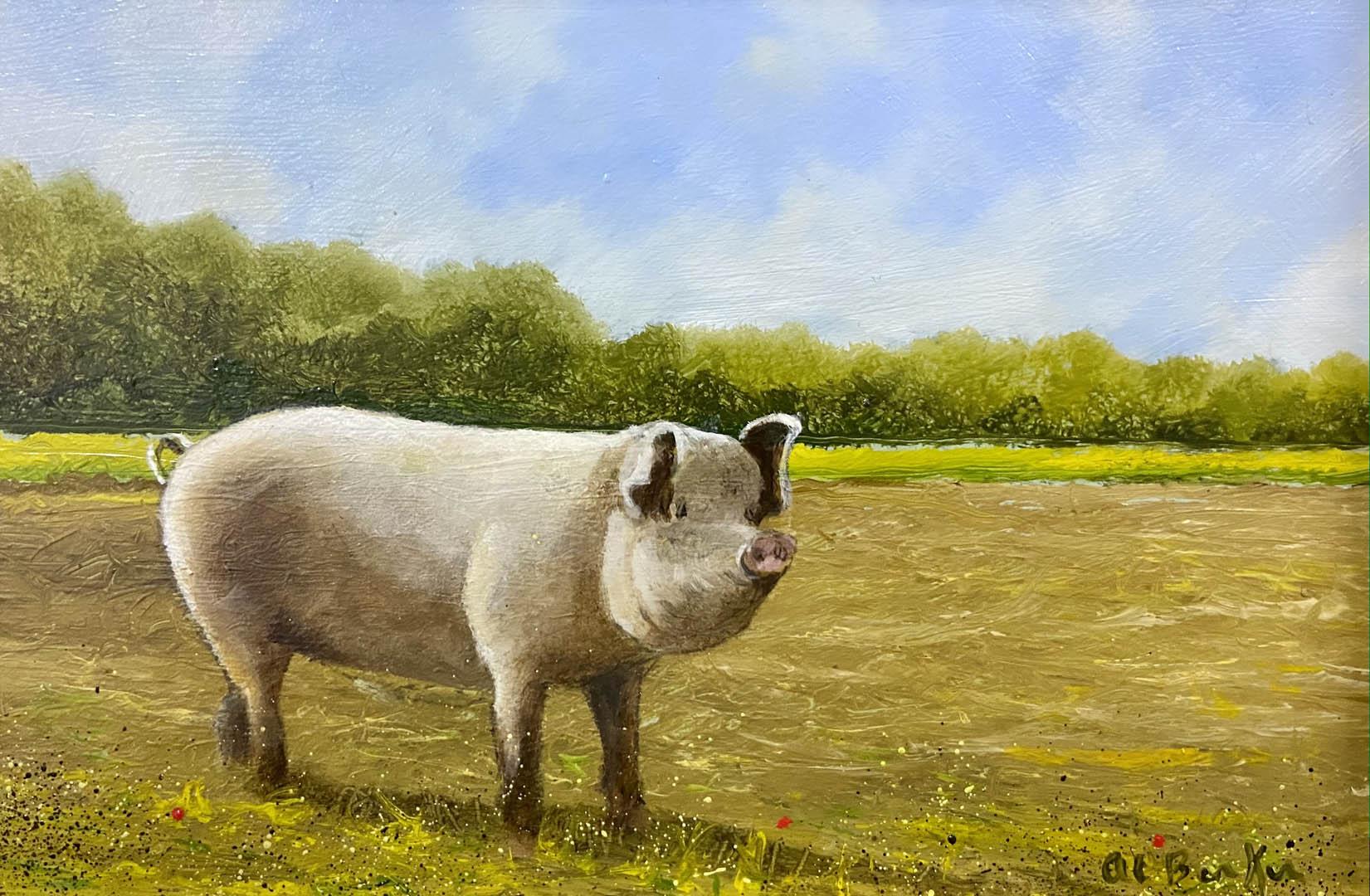 Artist Al Barker