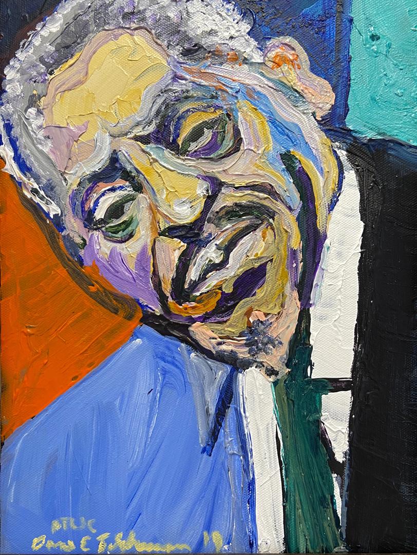 Artist Dane Tilghman
