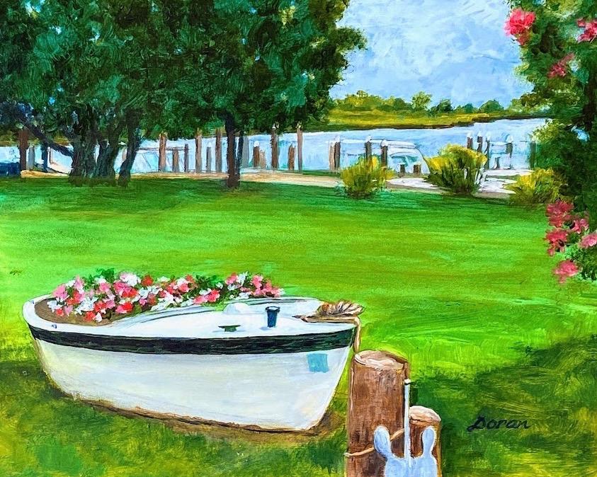 Artist Jean Doran