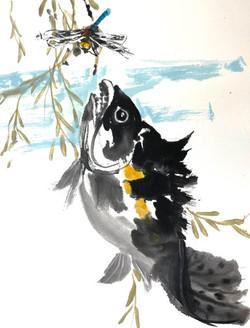 Artist Nancy Richards West