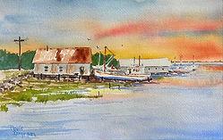 Boatyard Sunrise 6.5x10.JPG