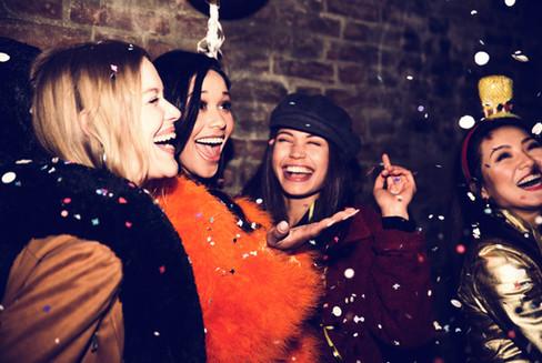 Girls Partying
