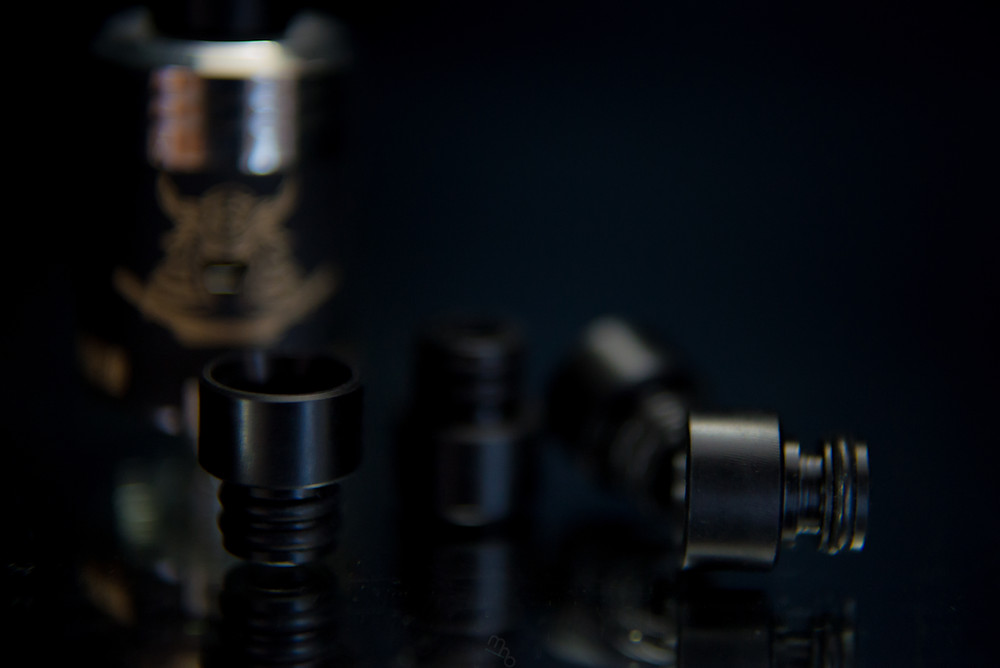 Samurai Competition V2 with Black Derlin Drip Tip