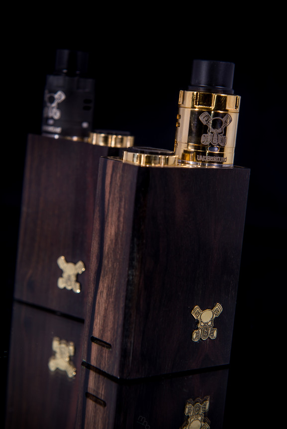 UDG Series Box Mod Wood Edition