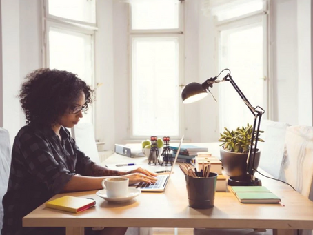 5 Ways to stay productive when working from home.