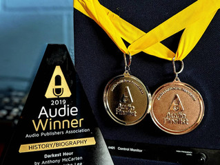 We Have An Audie Award!