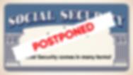 Web Image - Social Security - Postponed.