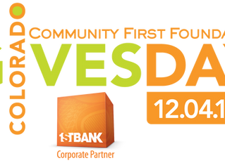 Great opportunity to support local theater on Colorado Gives Day, Dec 4