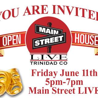 Main Street LIVE: Open House!