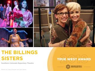 2018 True West Awards: Jamie and Jacquie Jo Billings(SCRT)
