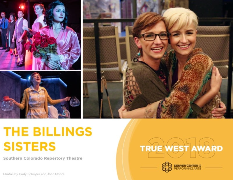 True West Award winners - Jamie & Jacquie Jo Billings