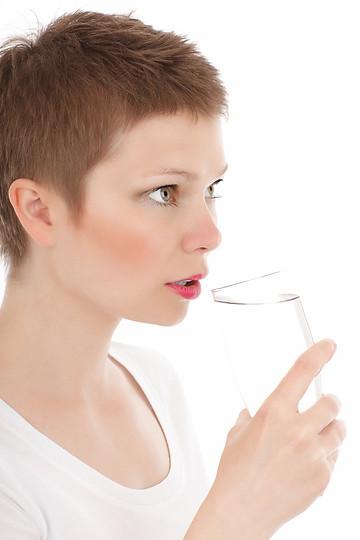 Wasser trinken!