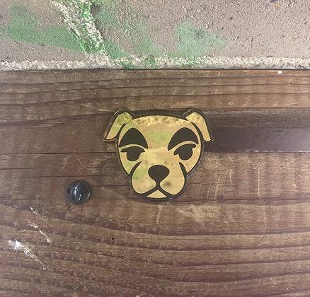 Animal Crossing K.K. Slider Pin