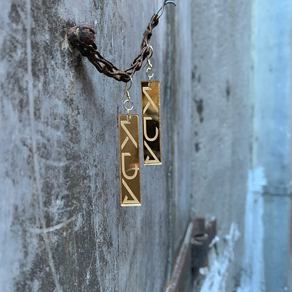 Gold K/DA POP/STARS Earrings