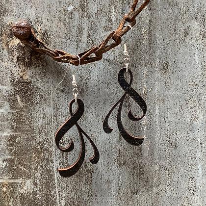 Vine Leaf Earrings