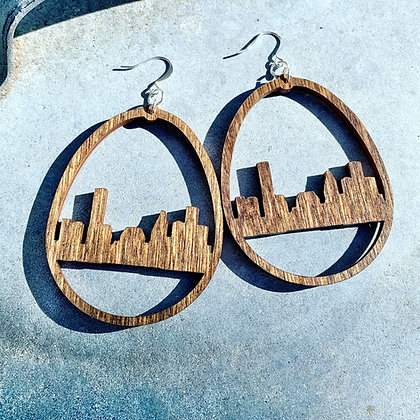 Houston Skyline Earrings