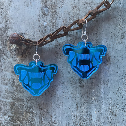 Blue K/DA POP/STARS Akali  Earrings