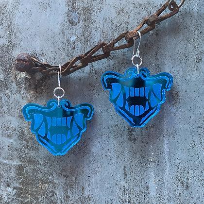 Blue K/DA POP/STARS Akali  Earrings