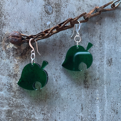 Classic Animal Crossing Leaf Earrings