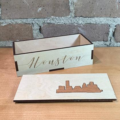 Birch & Mahogany Houston Box