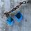 Thumbnail: Blue Mirror Diamond Earrings