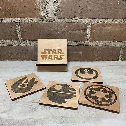Star Wars Inspired Coasters
