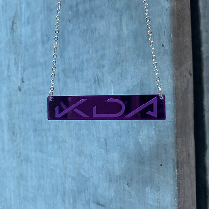 Purple Mirror K/DA POP/STARS Pendant