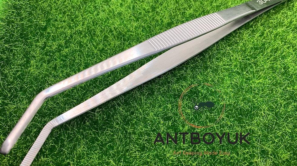 25cm Long Curved Tweezers