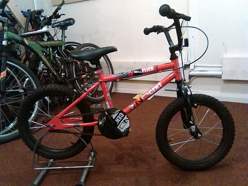 NDCENT FLIER 16 INCH WHEEL RED/BLACK GOOD CONDITION